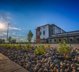 Student housing exterior design