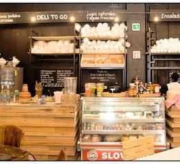 Studio-FV La Valentina Market Rustic Service Counter Design