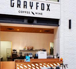 Studio m architecture grey fox coffee store front