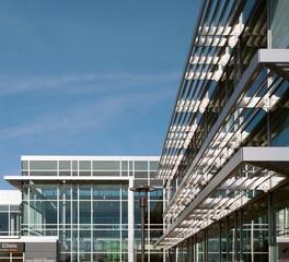 sun control of minnesota 3m window films hospital exterior