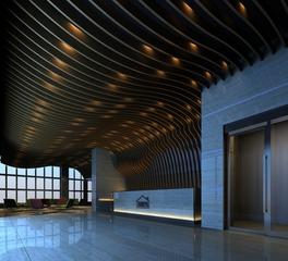 tamlyn headquarters lobby trim products