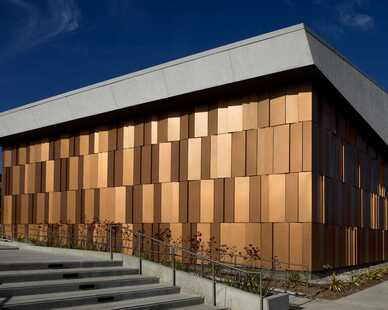 Tapered Series Panels can be angled in any direction with varying depths and degree of slope. This freedom to design each specific panel gives you an unlimited capacity to create a dynamic, one-of-a-kind surface on nearly any façade, without the need to modify the substrate or weather barrier.