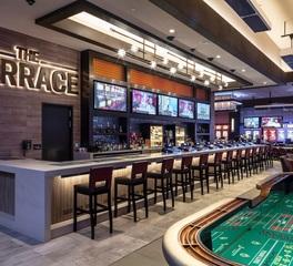 Tate Access Flooring Terrace at Horseshoe Casino Bar Design