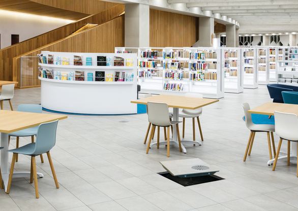 Calgary Central Library encompasses the spirit of culture, learning, and community in Calgary.