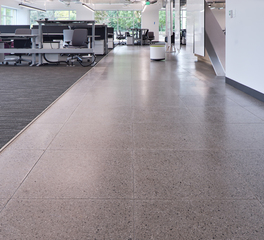 Tate Ford Research and Innovation Center interior raised access flooring 1