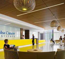 Tate Inc Spacious Tulsa Cancer Institute Lobby