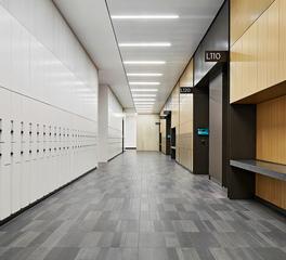 Tate Northwester University Kellogg School of Management Interior Lockers
