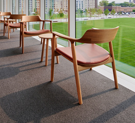 Tate Samson Pavilion Case Western Reserve University and Cleveland Clinic interior seating