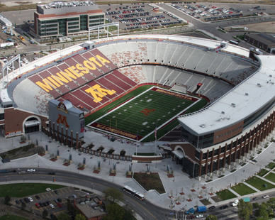 """It was my great pleasure to work with Gage Brothers. The University of Minnesota benefited by the use of Gage Brothers' precast concrete in the construction of TCF Bank Stadium. 