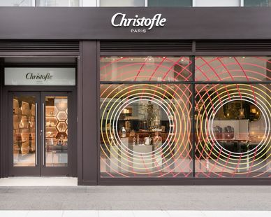 Christofle, a french retailer, was a tenant fit-out built in City Center located in downtown Washington D.C. Construction completed by Teel Construction.
