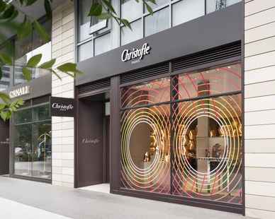 All new MEP systems, millwork, tile & Storefront were provided for Christofle Paris in downtown Washington D.C.