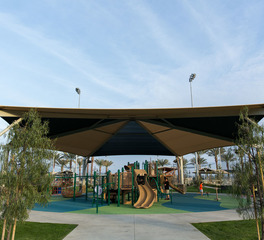 Tension Structures Lake Forest Sports Park