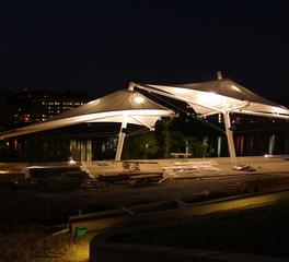 Tension Structures South Shore Riverfront Park