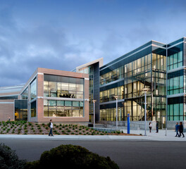 Terreal North America California State University Monterey Bay Business and Technology Building Exterior Glass Window Facade