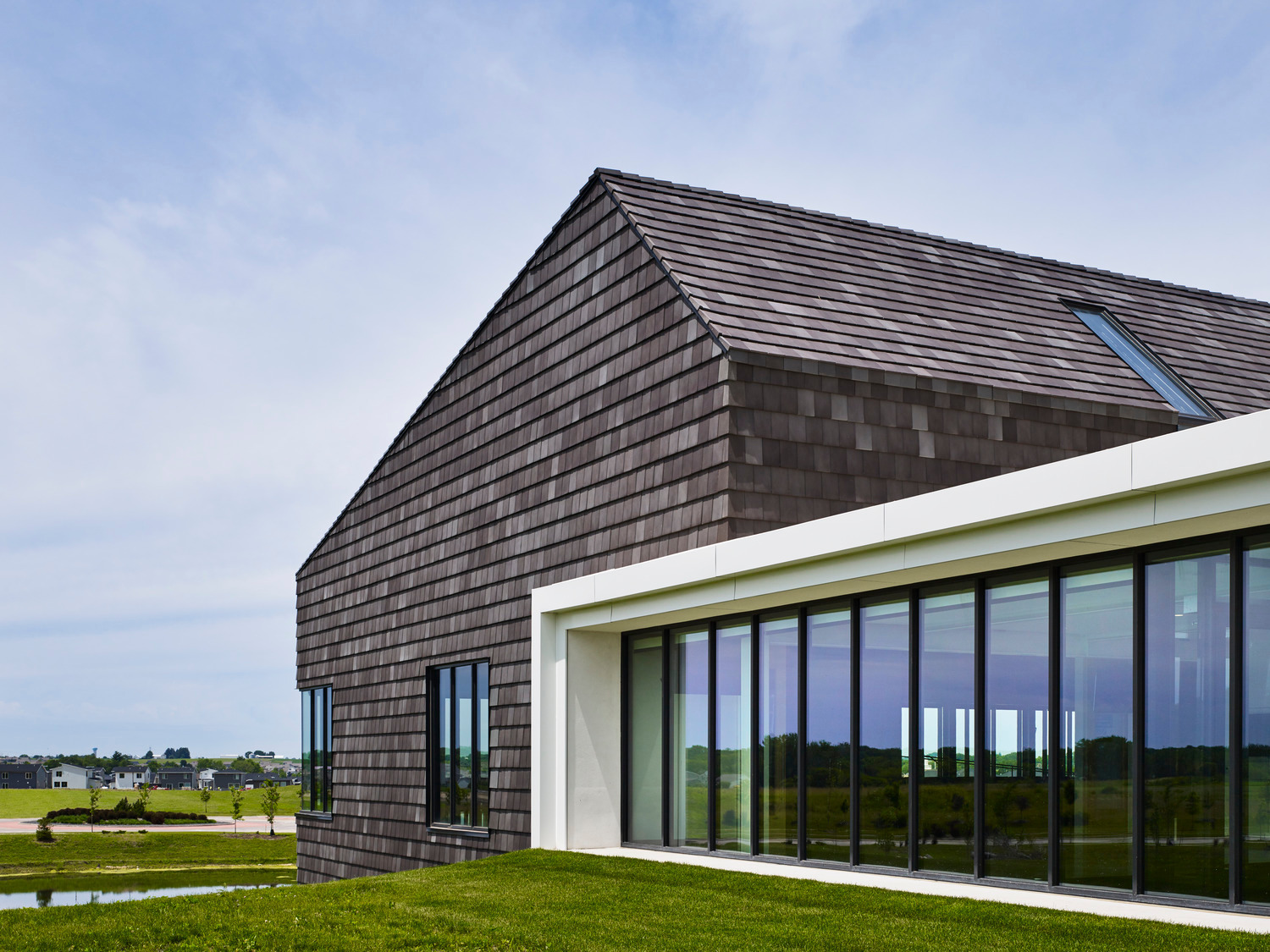 Terreal North America Lutheran Church of Hope Exterior Cladding and Floor to Ceiling Window Design
