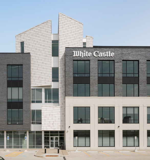 Terreal North America NeXclad 16 White Castle Office Headquarters Exterior Facade and Window Design