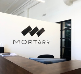 The foundry llc mortarr headquarters logo 2