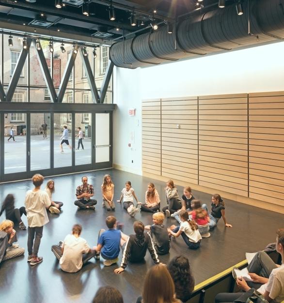 The Great Room Versatile Student Activity Room