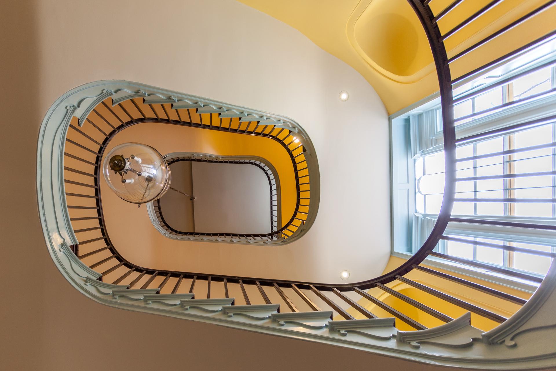 The Octagon Washington DC Main Staircase Design