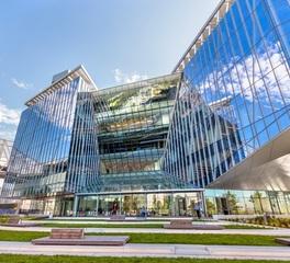 The Tata Innovation Center at Cornell Tech Turner Construction exterior glass glazing