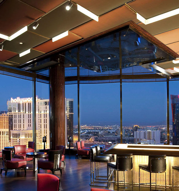 During the construction of the luxury 47- story Mandarin Oriental hotel, the lighting designers were tasked with creating an illuminated ceiling-glow from customized formed metal ribbons that were attached to the ceiling for architectural detail.