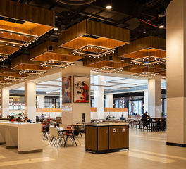 Tivoli Lighting Staten Island Mall Food Court Angle