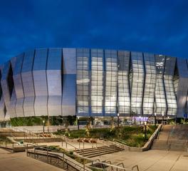Tnemec coating resources SACRAMENTO KINGS' GOLDEN 1 arena exterior