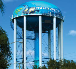 Tnemec HOLLYWOOD WEST ELEVATED WATER TANK
