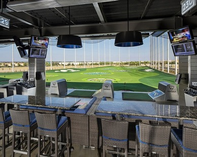 Bock Lighting provided their stunning light fixtures to the Top Golf location in Charlotte, North Carolina.