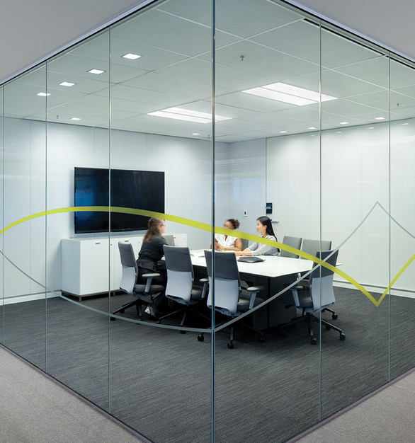 Transom, by Fluxwerx, is a recessed LED luminaire that provides relief from the ordinary. Its vertical design of clear anodized, extruded aluminum optical bottom rail allows the product to sit more quietly in the space; its vertical lens creates a uniquely transparent appearance that is simultaneously luminous and comfortable.