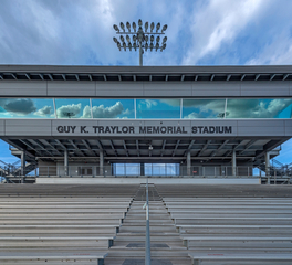 Traylor pressbox Front View