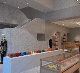 Tricarico Architecture & Design valentino flagship store sales floor