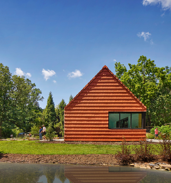 NeXclad 14 is a single-skin, small module terracotta cladding system that is available in a variety of surface textures and boundless color possibilities and carries a 75-year material warranty, including color.
