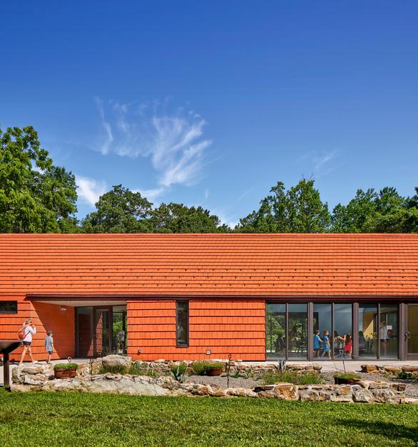 Tyler Arboretum - NeXclad Lanai 14 Historic Red