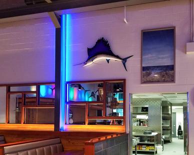 Uniform Linear Chesapeake's Restaurant Bar Restaurant Linear LED Lighting Strips