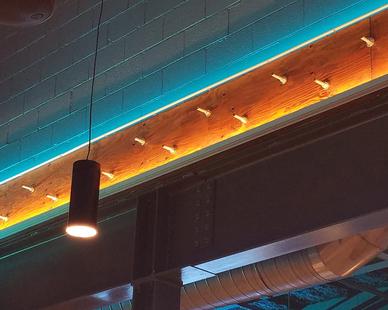 Uniform Linear Chesapeake's Restaurant Bar Restaurant RGB Linear LED Lighting Strips