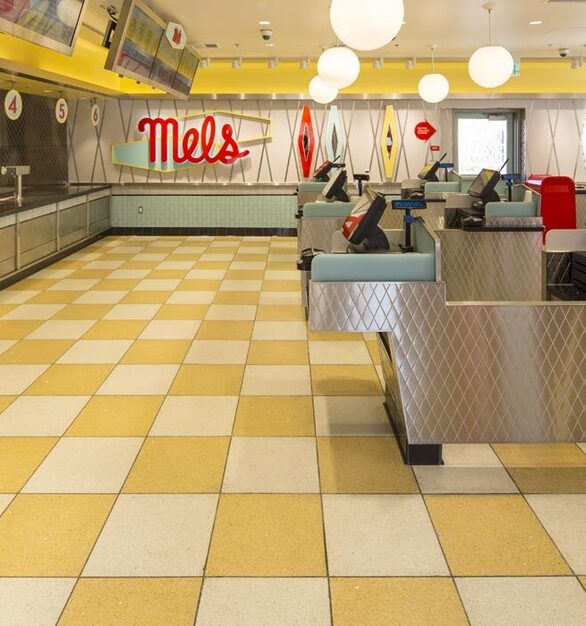 Universal Studios Mel's Diner