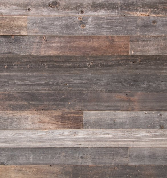 Beautiful layered Grey Pine Stormy wood creates an appealing exterior design at The Sound in Texas, by Urban Woods Company.