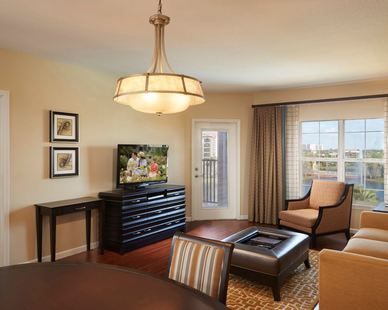 The light fixture seen here was provided by John G. Bagley, who represented manufacturer Uttermost, at the Grand Vacations Club Resort located in Orlando, FL.