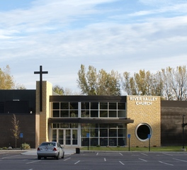 Vanman architects and builders river valley church minnerista exterior