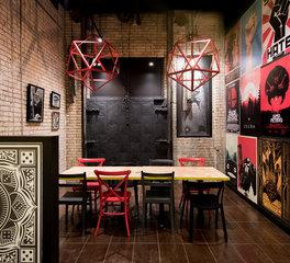 Vela Creative Byte Restaurant Interior Design