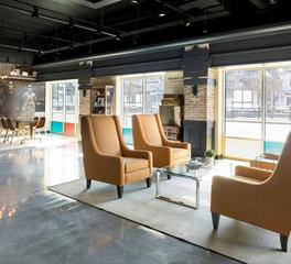 Vela Creative The Reading Room Lounge Area Design