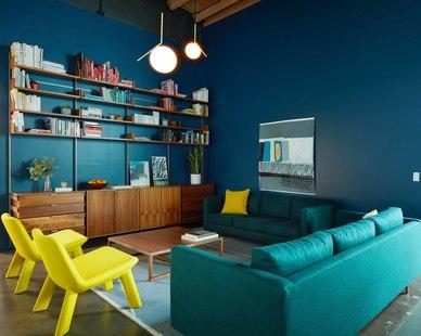 Vertebrae Architecture + Design Vertebrae Architecture + Design Psyop Office Lounge Design