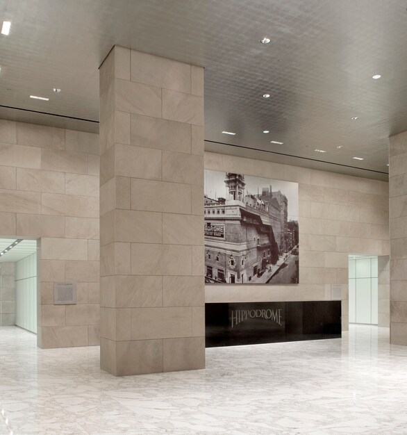 Vetter Stone's Silver Shadow Alabama Stone was used for the interior of the Hippodrome located at 1120 Avenue of the Americas in NYC.