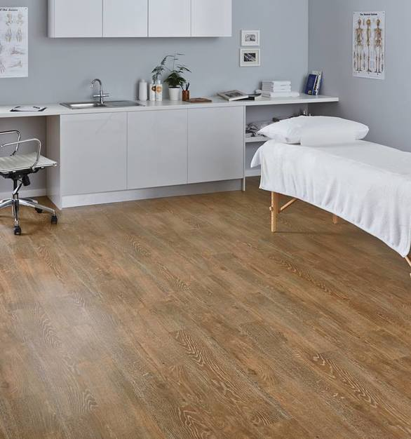 High footfall tests the toughest flooring, yet Karndean has the durability to withstand the most demanding environments. With their faster installation and proven durability, Karndean wood and stone effect floors are designed for a long, low maintenance life and minimal interference with daily routines.
