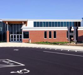 W. Gohman Construction Hutchinson High School Entrance