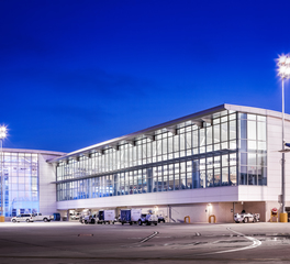 Wade Architectural Systems iAH Terminal B Full Metal Exterior Facade