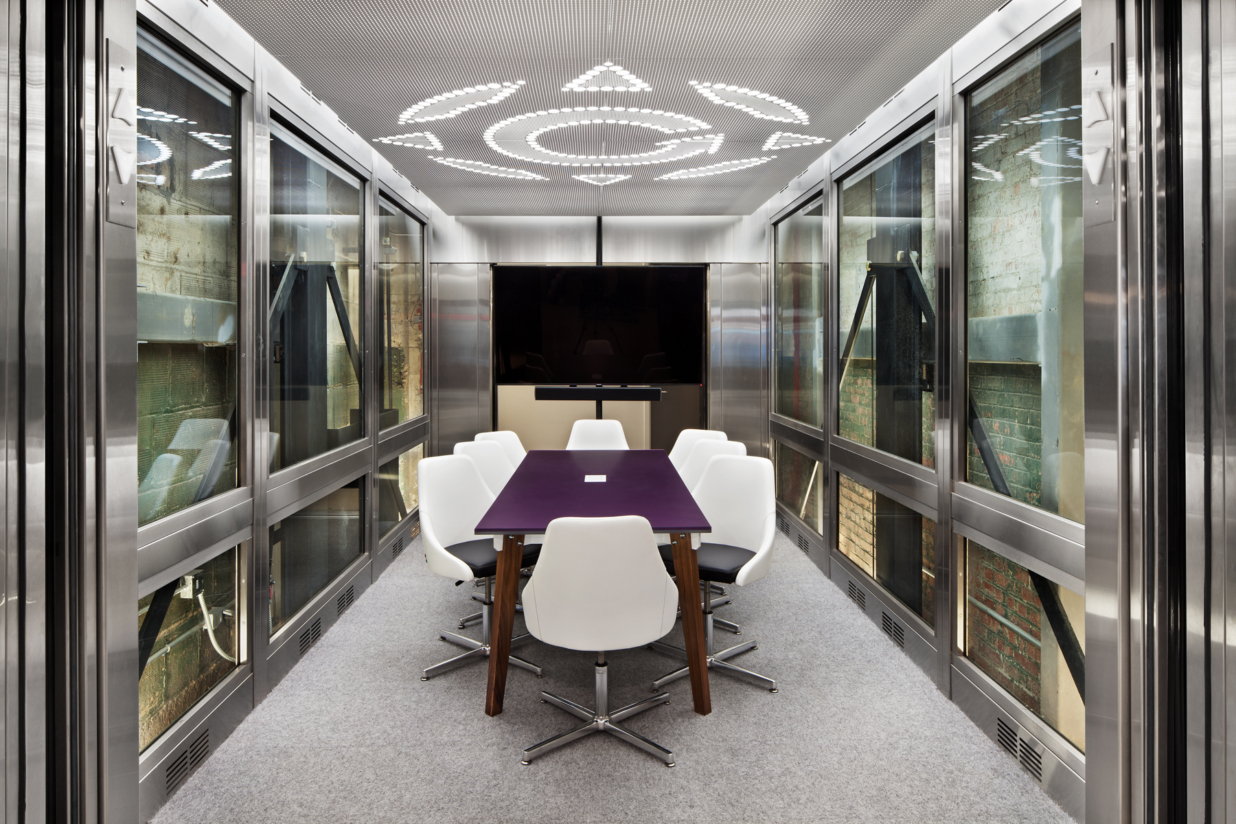 Wade Architectural Systems Winfield Place Conference Room Ceiling Design