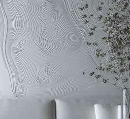 wall design Solid surface material durasein