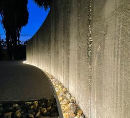 Wall striplight side